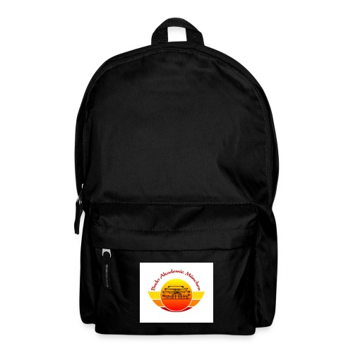 Logo Budo Akademie, weißer Hintergrund - Rucksack