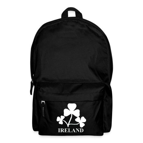 Ireland Shamrock white7aHighRes png - Backpack