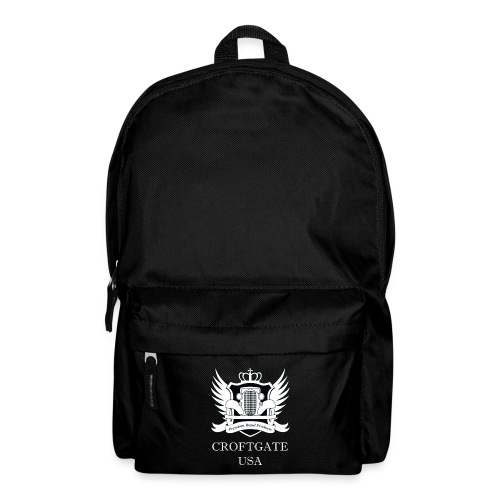 CroftgateUSA Logo White - Backpack
