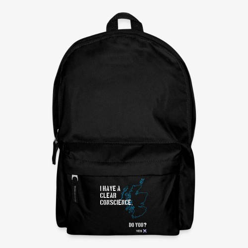 Clear Conscience - Backpack