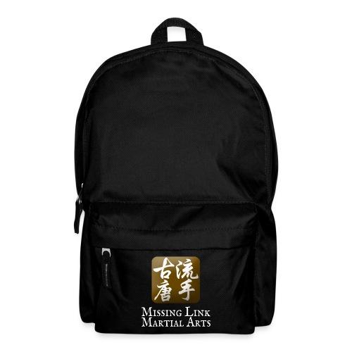 Logo ML white font - Backpack