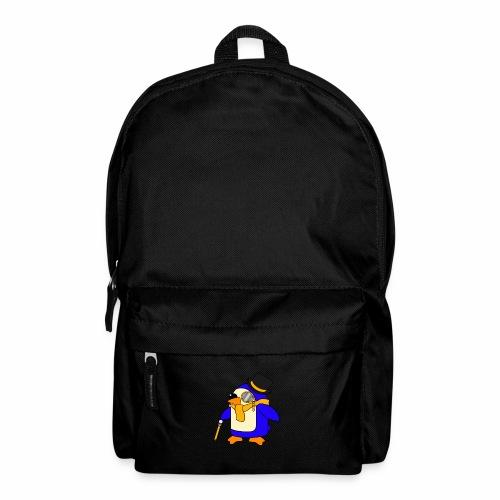 Cute Posh Sunny Yellow Penguin - Backpack