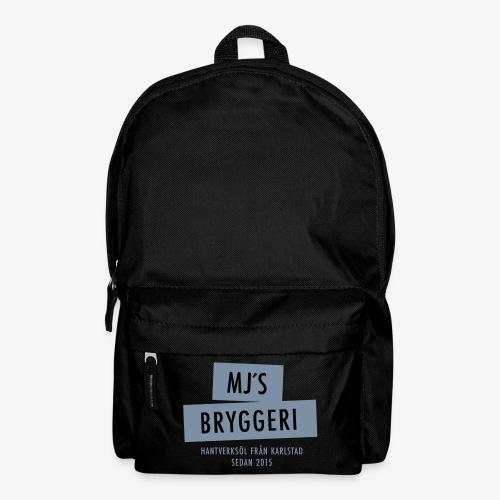 MJs logga - Ryggsäck