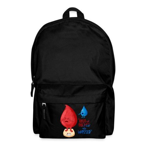 Blut ist dicker als Wasser lustig - Rucksack
