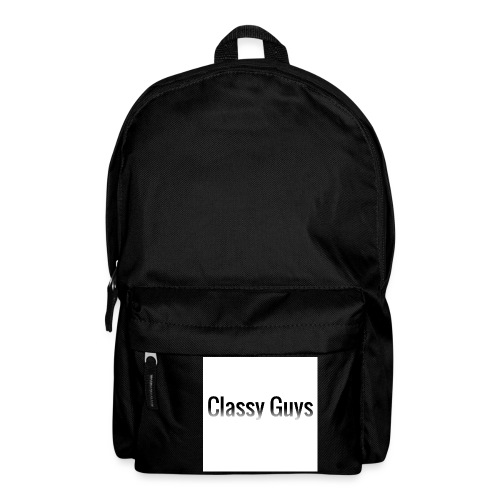 Classy Guys Simple Name - Backpack