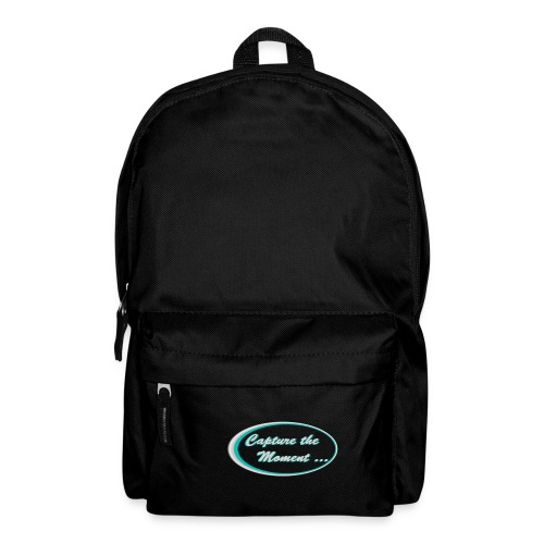 Logo capture the moment photography slogan - Backpack