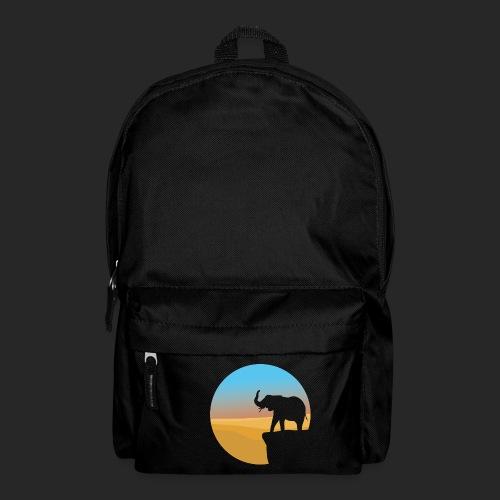 Sunset Elephant - Backpack