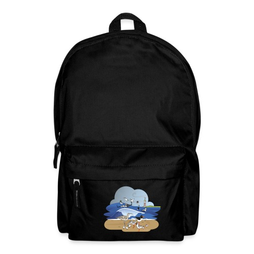See... birds on the shore - Backpack