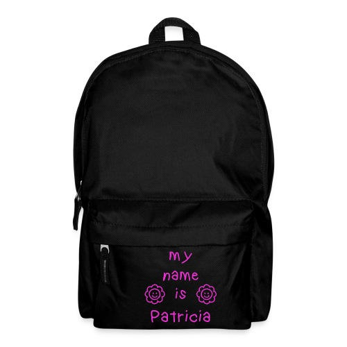 PATRICIA MY NAME IS - Sac à dos