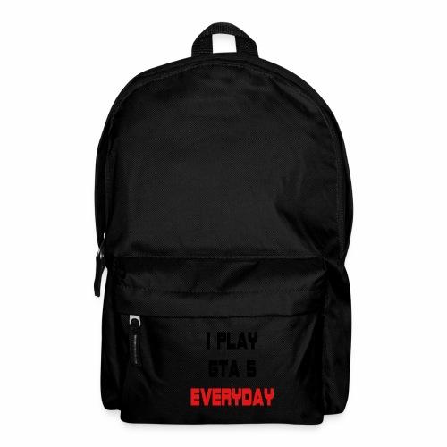 I play GTA 5 Everyday! - Rugzak