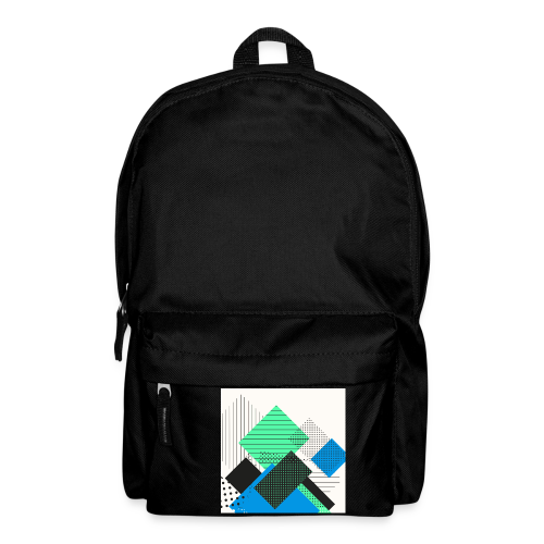 Abstract rectangles pastel - Backpack