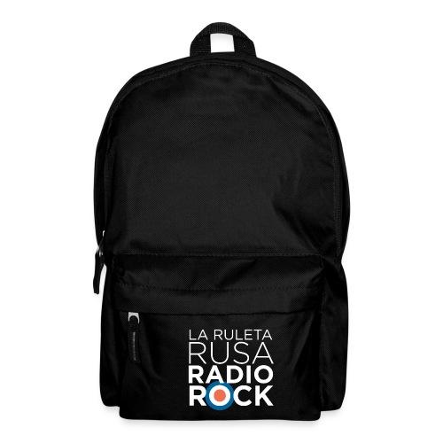La Ruleta Rusa Radio Rock. Retrato blanco - Mochila