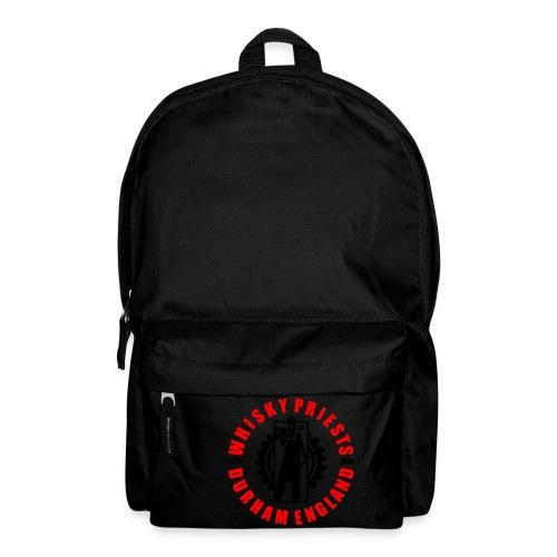 IRON MAN LOGO RED BLACK TRANS - Backpack
