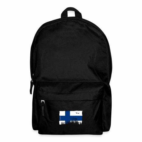 Suomen lippu, Finnish flag T-shirts 151 Products - Reppu