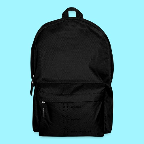 neck back anxiety attack - Backpack