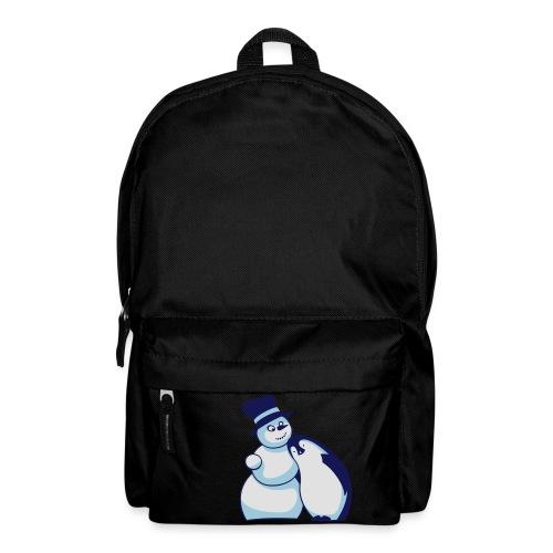 Schneemann und Pinguin - Rucksack