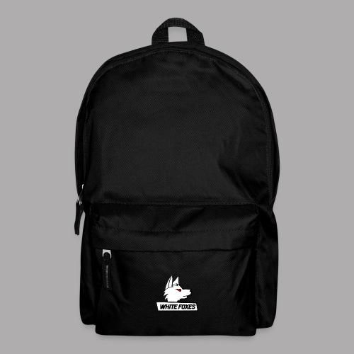 logo white foxes - Sac à dos