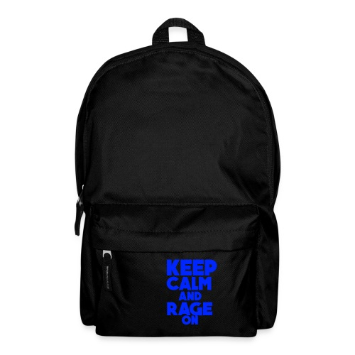 KeepCalmAndRageOn - Backpack