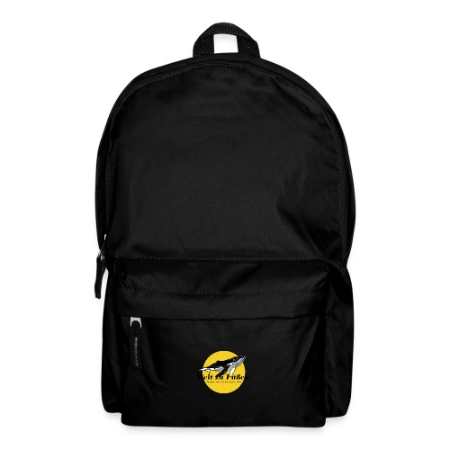 Welt zu Füßen Logo - Rucksack