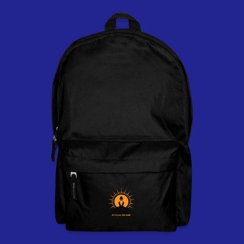 final nero con scritta - Backpack