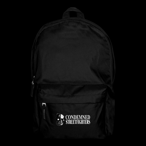 Condemned Streetfighters fridge graphic - Backpack