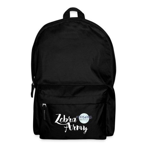 Zebra Army (white) - Backpack