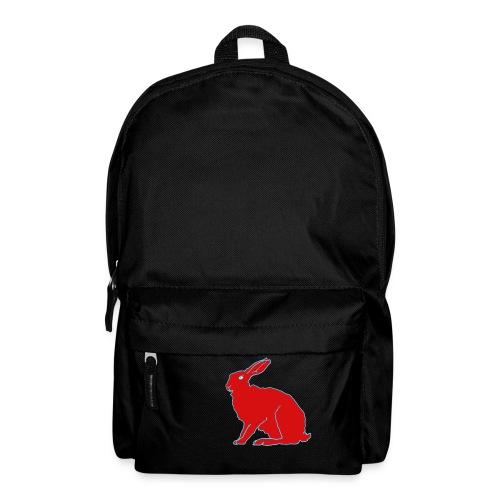 Roter Hase - Rucksack