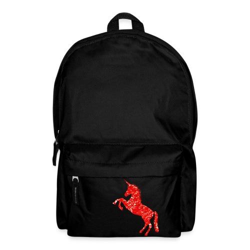 unicorn red - Plecak