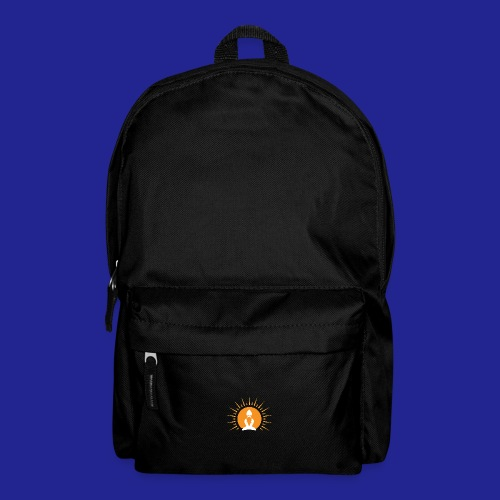 Guramylyfe logo white no text - Backpack