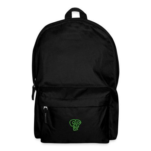 poco loco logo green - Backpack