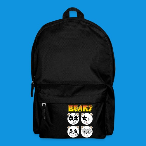 Kiss Bears square.png - Backpack