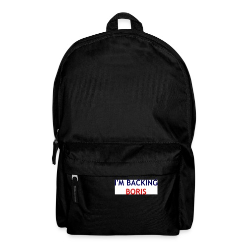 Backing Boris - Boxer Shirts - Backpack