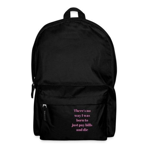 No way - Backpack