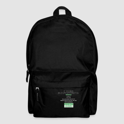 Dignitas - If found please return joke design - Backpack