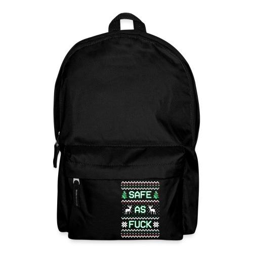 Christmas Jumper Safe AF - Backpack