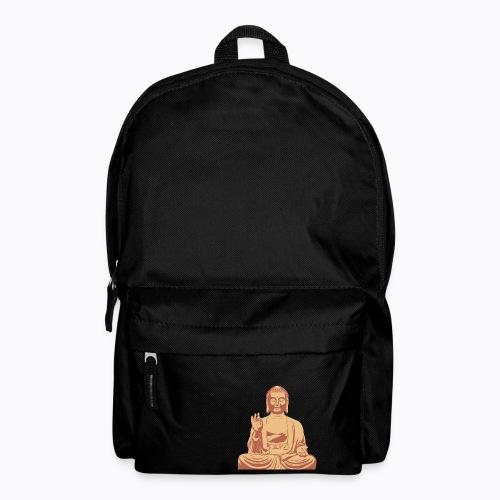 buddha om - Backpack