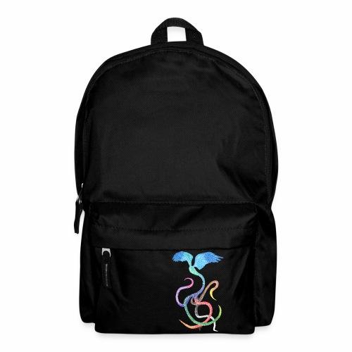 Graceful - Rainbow Bird in Ink - Backpack