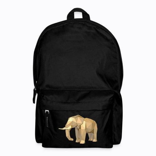 elephant geometric - Backpack