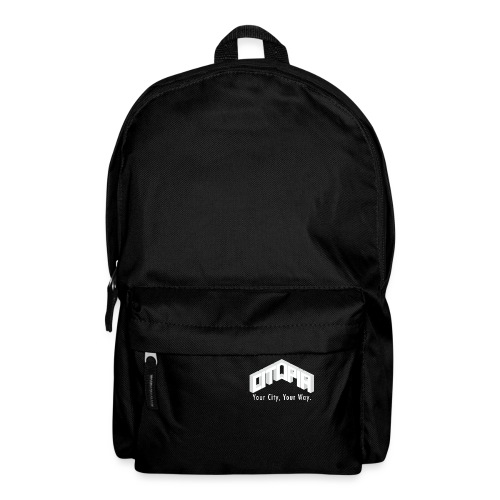 Logo with Slogan - Backpack