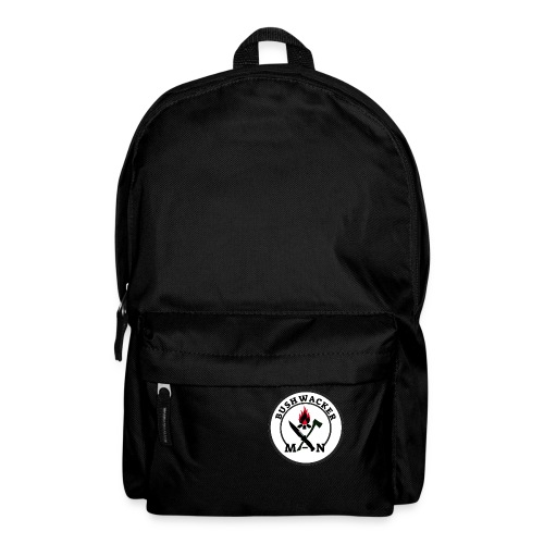bushwackers logo white - Backpack
