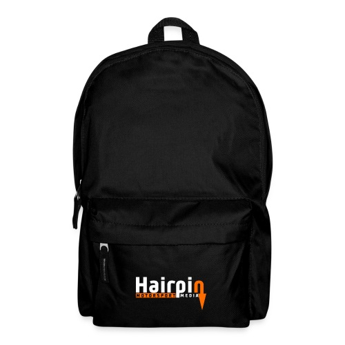 logo white text png - Backpack