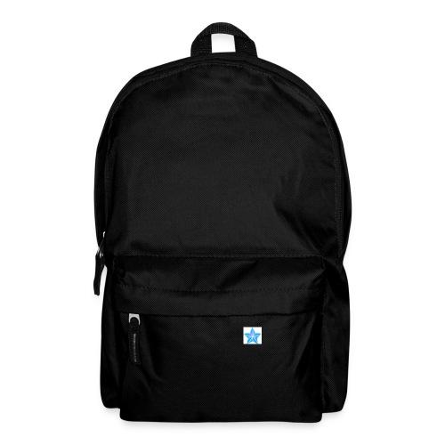 blue themed christmas star 0515 1012 0322 4634 SMU - Backpack