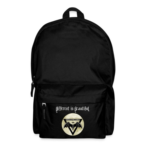 Different is Beautiful with Moon WGM Logo - Backpack
