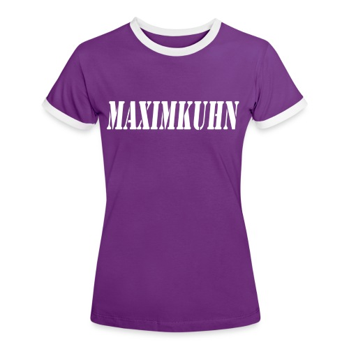 maximkuhn - Vrouwen contrastshirt