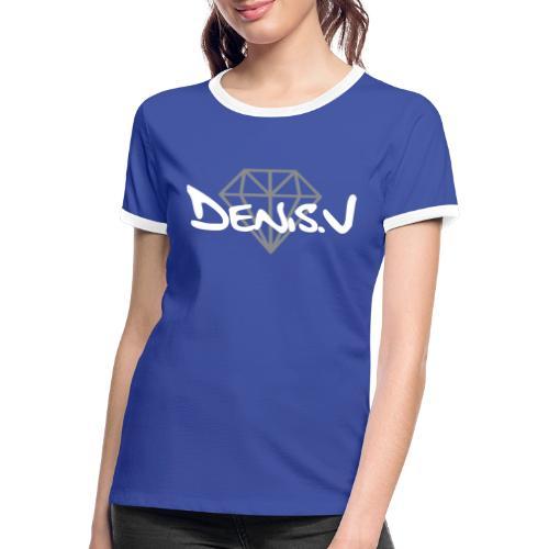 denis.v logo - T-shirt contrasté Femme