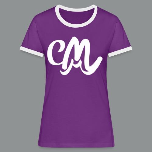 Kinder/ Tiener Shirt Unisex (voorkant) - Vrouwen contrastshirt