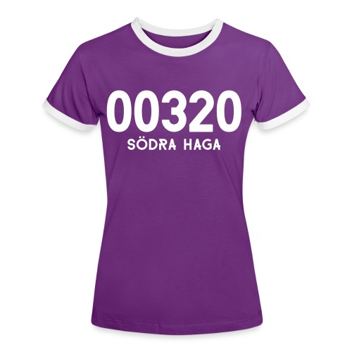 00320 SODRAHAGA - Naisten kontrastipaita