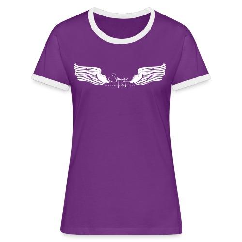 Seraph Wings white - T-shirt contrasté Femme