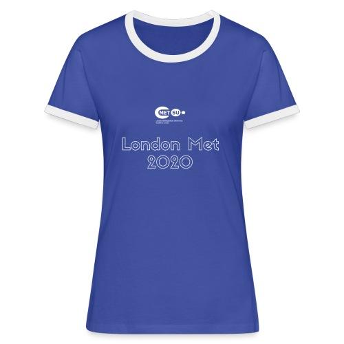 London Met 2020 - Women's Ringer T-Shirt