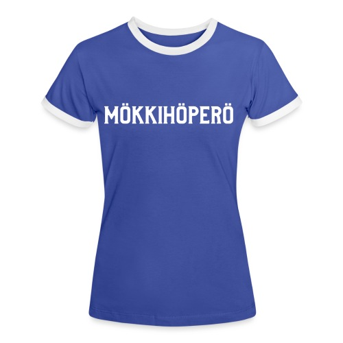 mokkihopero - Naisten kontrastipaita